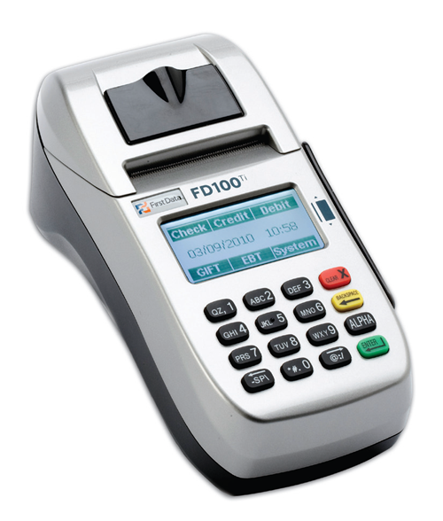 fd100 credit card machine paper